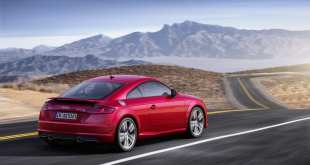 The new Audi TT –  an update for the design icon
