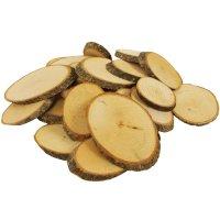 Naturholzscheiben oval 1 kg, 5 - 9 cm lang   Affen basteln ...