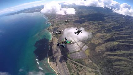 hawaii skydive