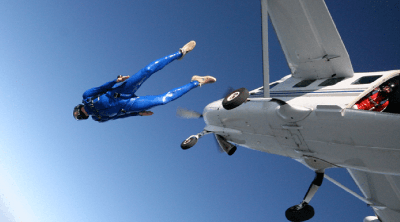 best places for Sky diving 2018