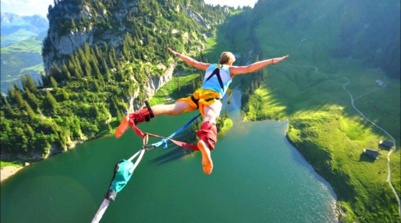 Bungee Jumping - What are best places to bungee jump in 2018 - Bungee Jump in USA and International Bungee Jump Sites - TrendMut
