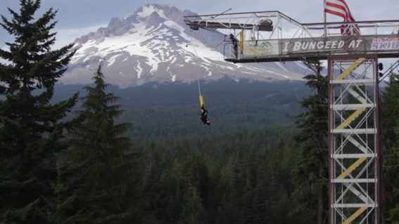Bungee Tower by Mount Hood Adventure Park in Government Camp, Oregon - Best places to bungee jump - 2018 - TrendMut- USA