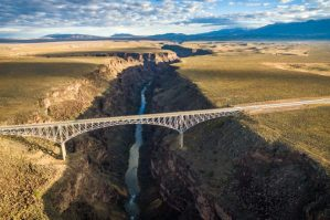 Rio Grande Bridge, Taos, New Mexico - Best places to bungee jump - 2018 - TrendMut- USA