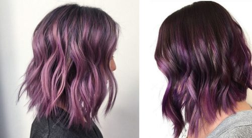 ultraviolet hair - best hair color trends for 2018