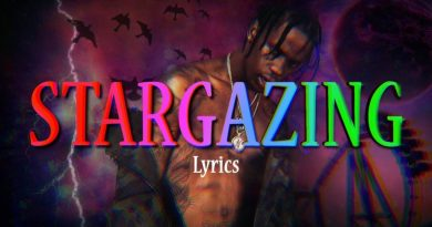 Travis Scott Stargazing Lyrics