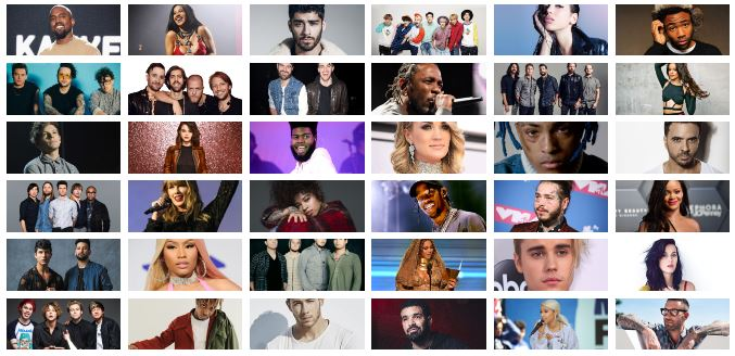 top ten singers of 2018