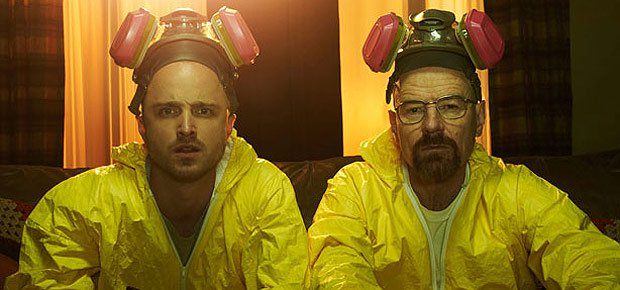 Breaking Bad film in the making