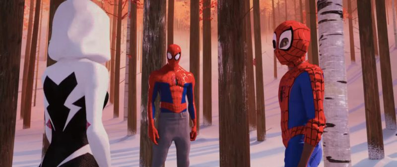 Spider-Man: Into The Spider-Verse Storyline