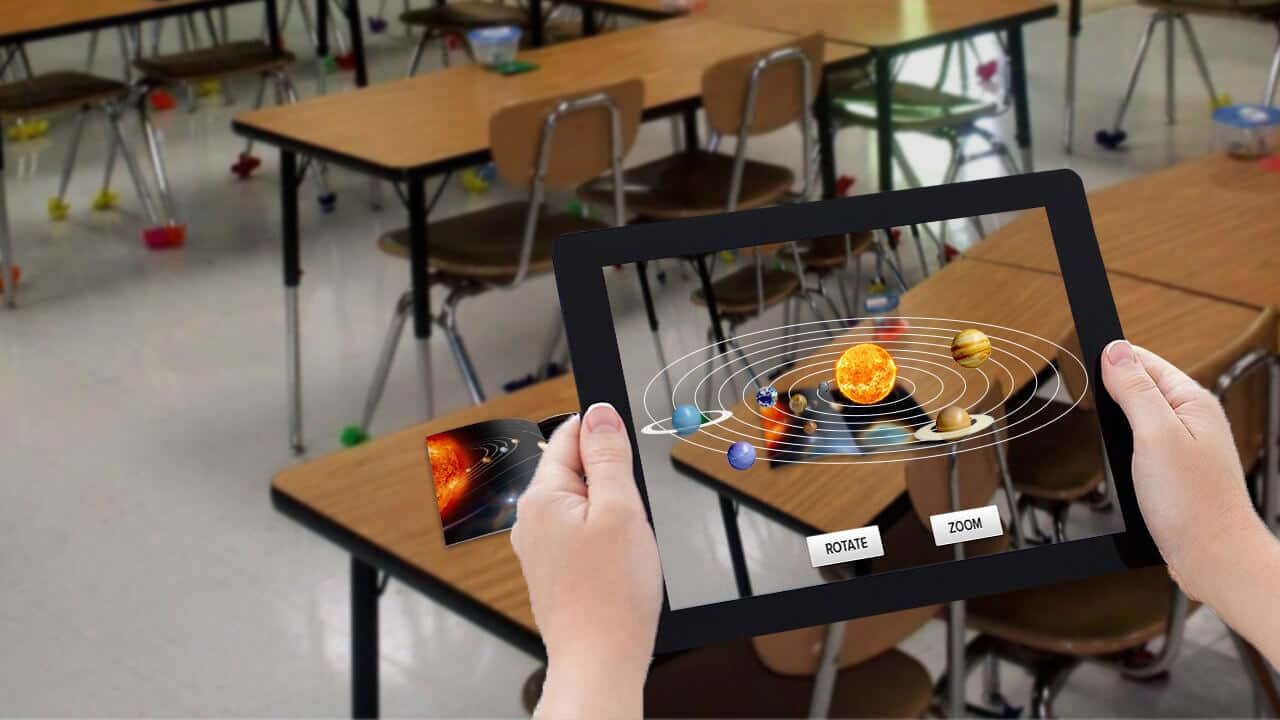 Augmented Reality In Education Augmented Reality For