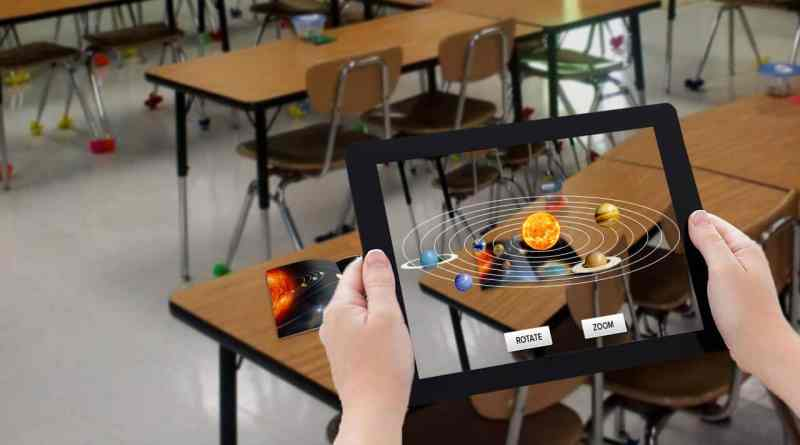 Augmented Reality for virtual classrooms