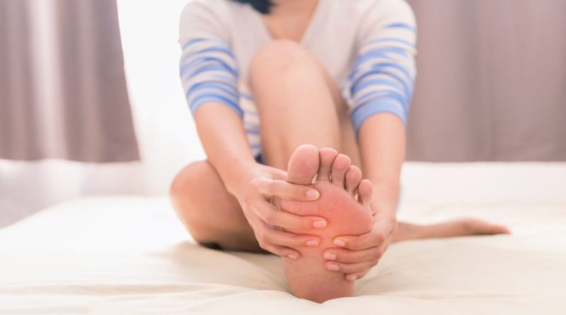 causes of foot cramps