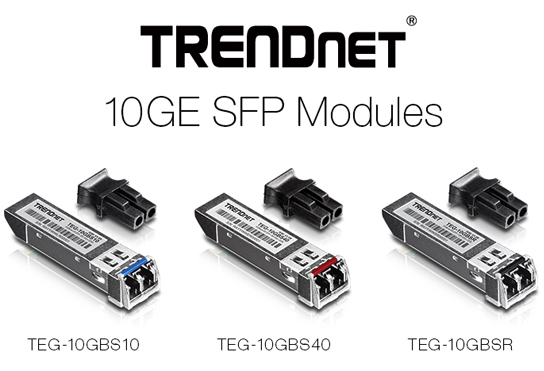 TRENDnet launches high-performance 10 Gigabit fiber and