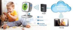 WiFi Baby Cam  TREND TVIP743SIC