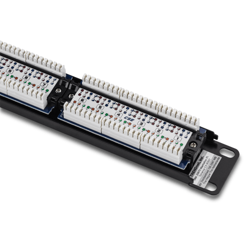 small resolution of 24 port cat5 5e unshielded patch panel
