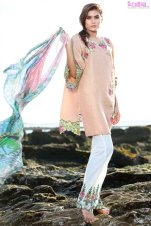 1584-PEACH-QUARTZ EMBROIDERED LAWN UNSTITCHED 5,790