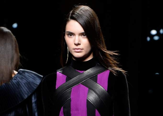 jenner balmain paris fashion