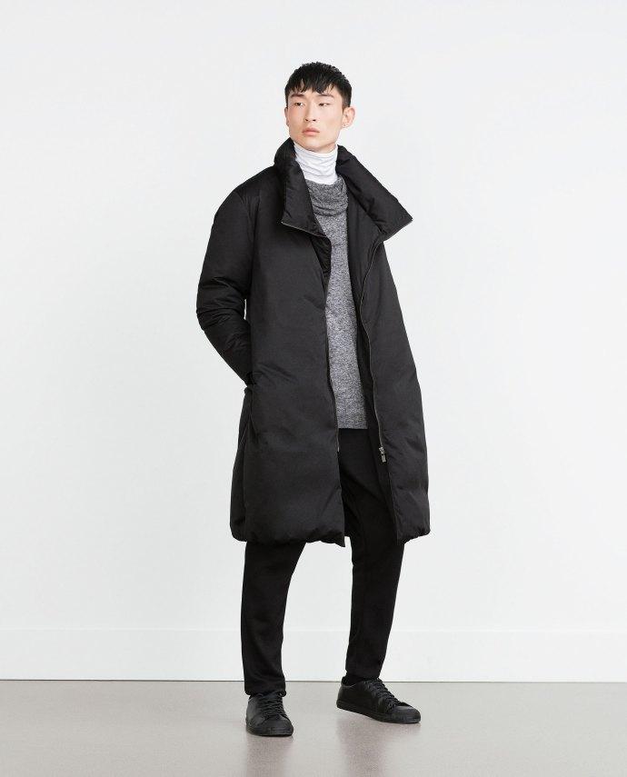 oversized coat zara