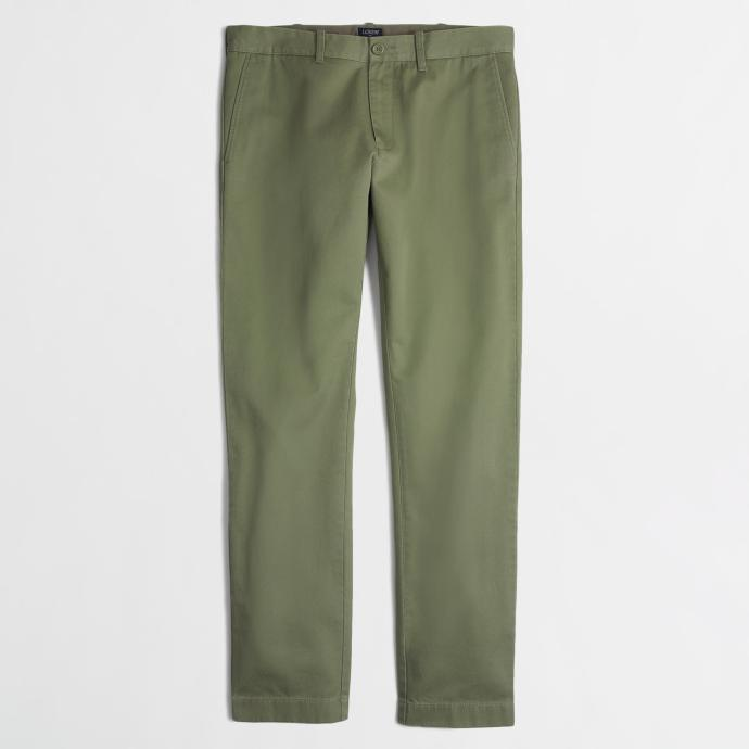 Army Green Chinos