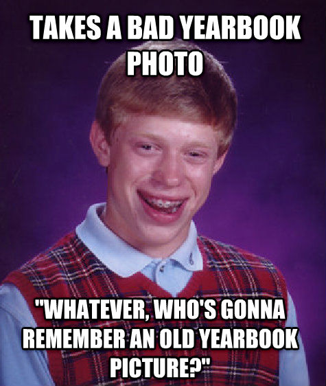 bad luck brian internet memes are legendary, here's why trend police