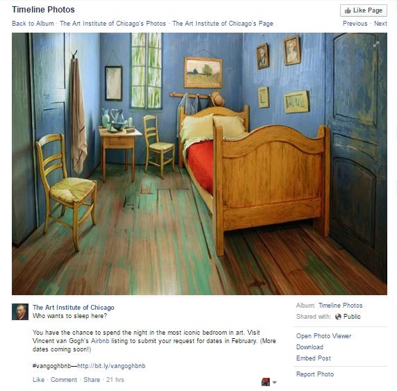 Vincent Van Gogh's Room