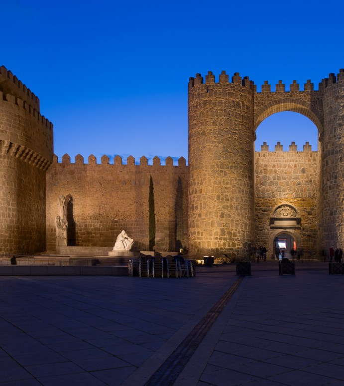 A New Lighting System For The Historic Centre Of Avila
