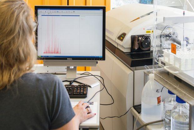 Massensektrometrieverfahren von Fraunhofer. Foto: Fraunhofer IGB