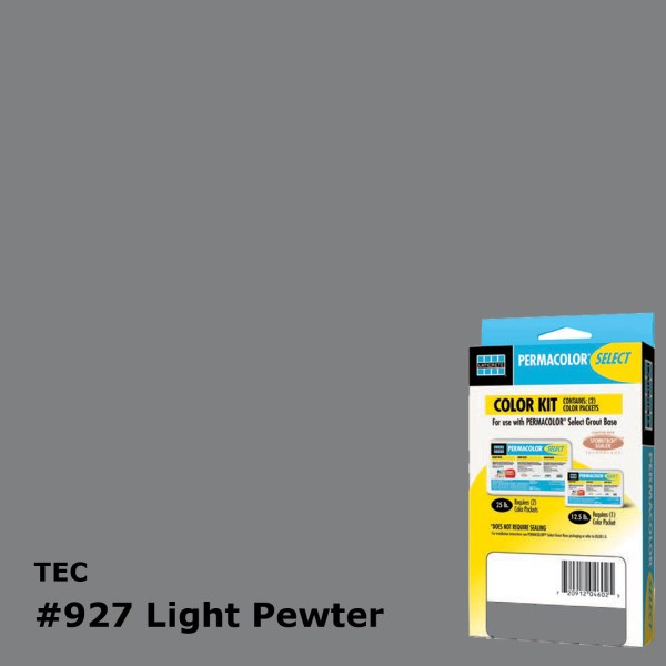 TEC Grout 927 Light Pewter