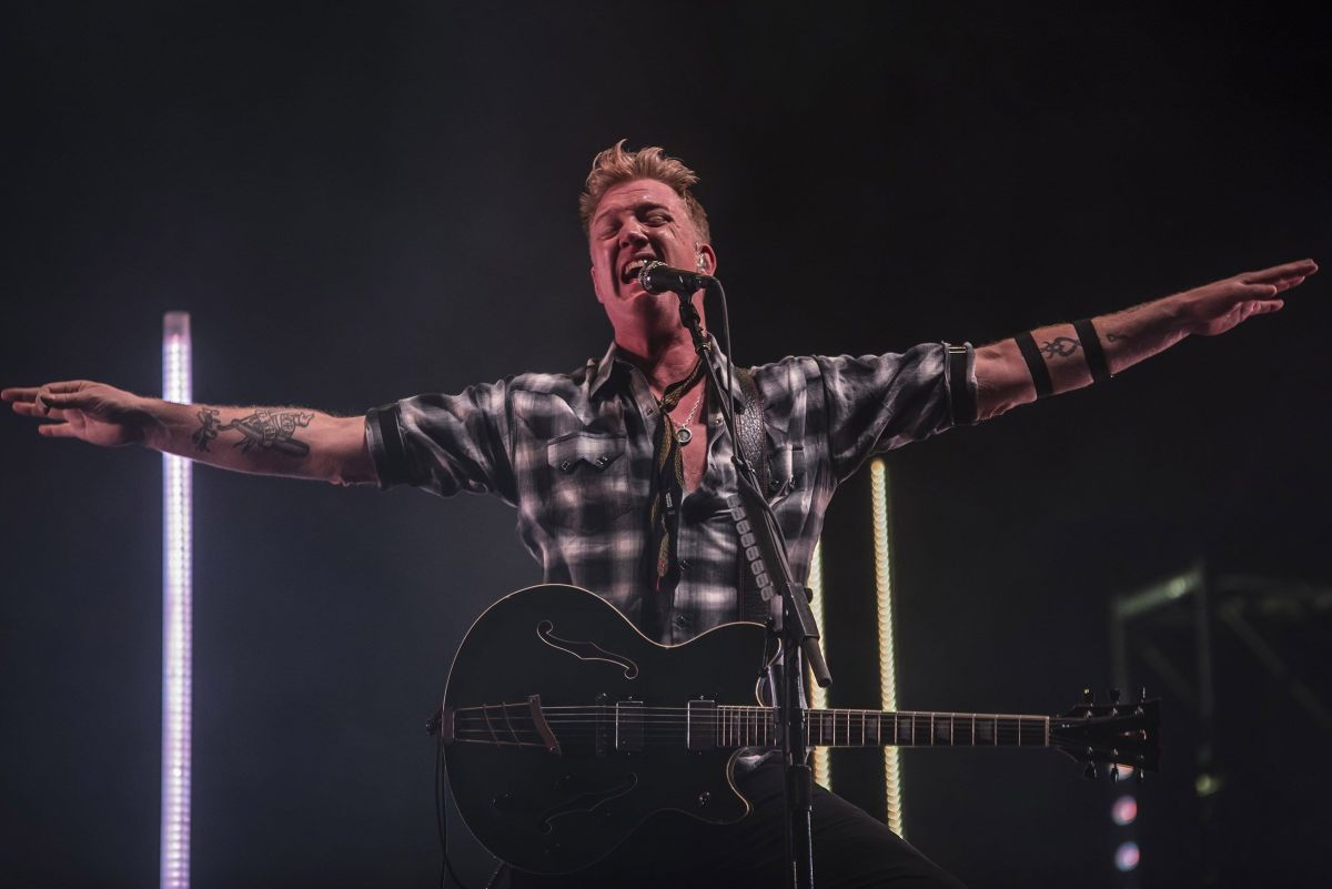 Queens of The Stone Age rifó en el Vive Latino 2018