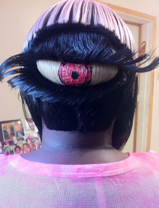 15 Most Crazy And Weird Hairstyles Strange Hairdo Trends And