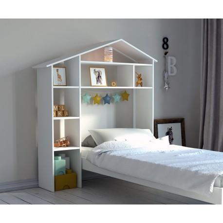 tete de lit avec rangements mary bln kids