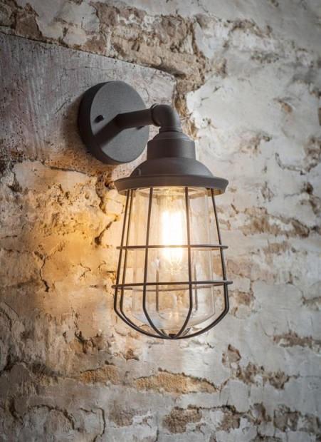 Industriele Buitenlamp Finsbury Antraciet
