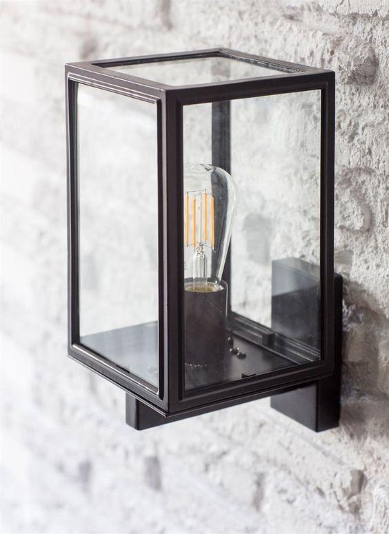 Wandlamp Buiten Zwart Belgrave  Buitenverlichting
