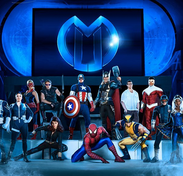 We were called to assemble with Marvel Universe Live!