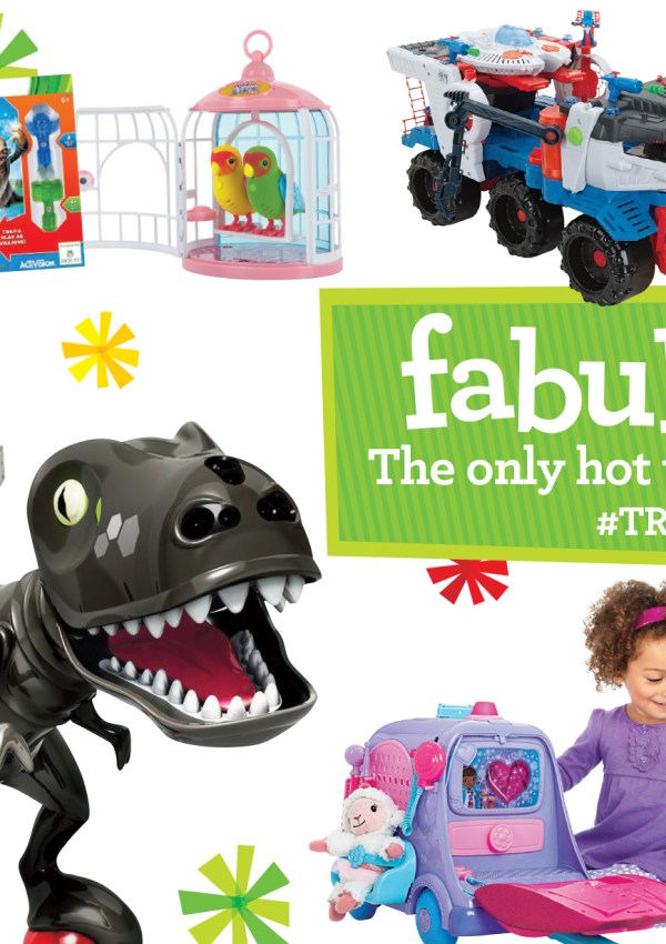 Toys R Us unveils their Hot Toy List