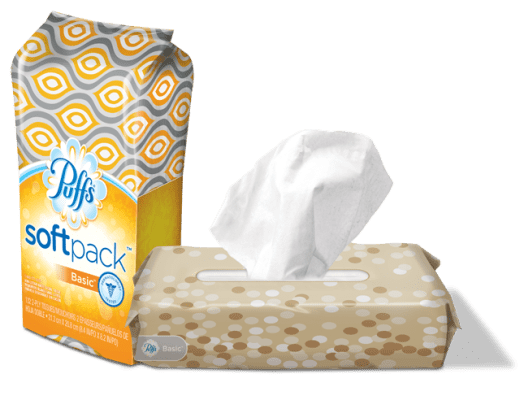 Puffs soft pack