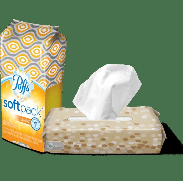 Puffs soft pack