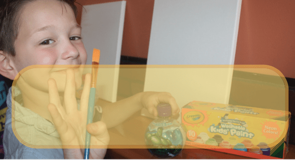 Kids Sip and Paint
