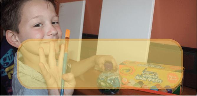 Kids Sip and Paint Crayola Aquaball