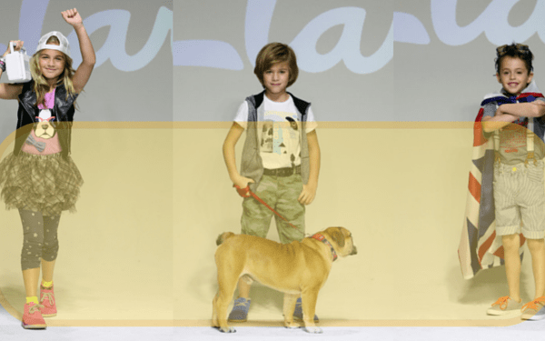 Clarks Kids hit the Petite PARADE Runway