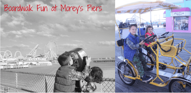 Family fun at moreys piers