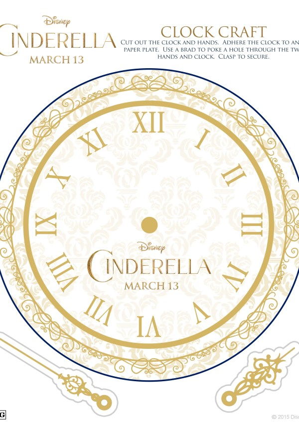 Cinderella Fun Activity Sheets for Kids