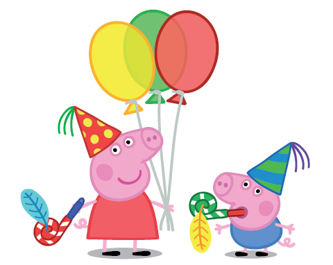 photo about Peppa Pig Printable referred to as Free of charge Peppa Pig Printables! - Elegant Chaos