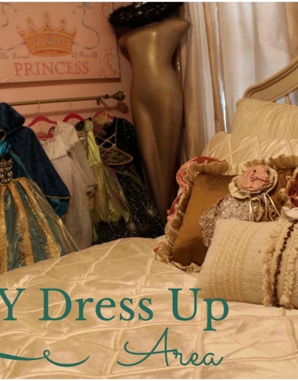 DIY Dress Up Area