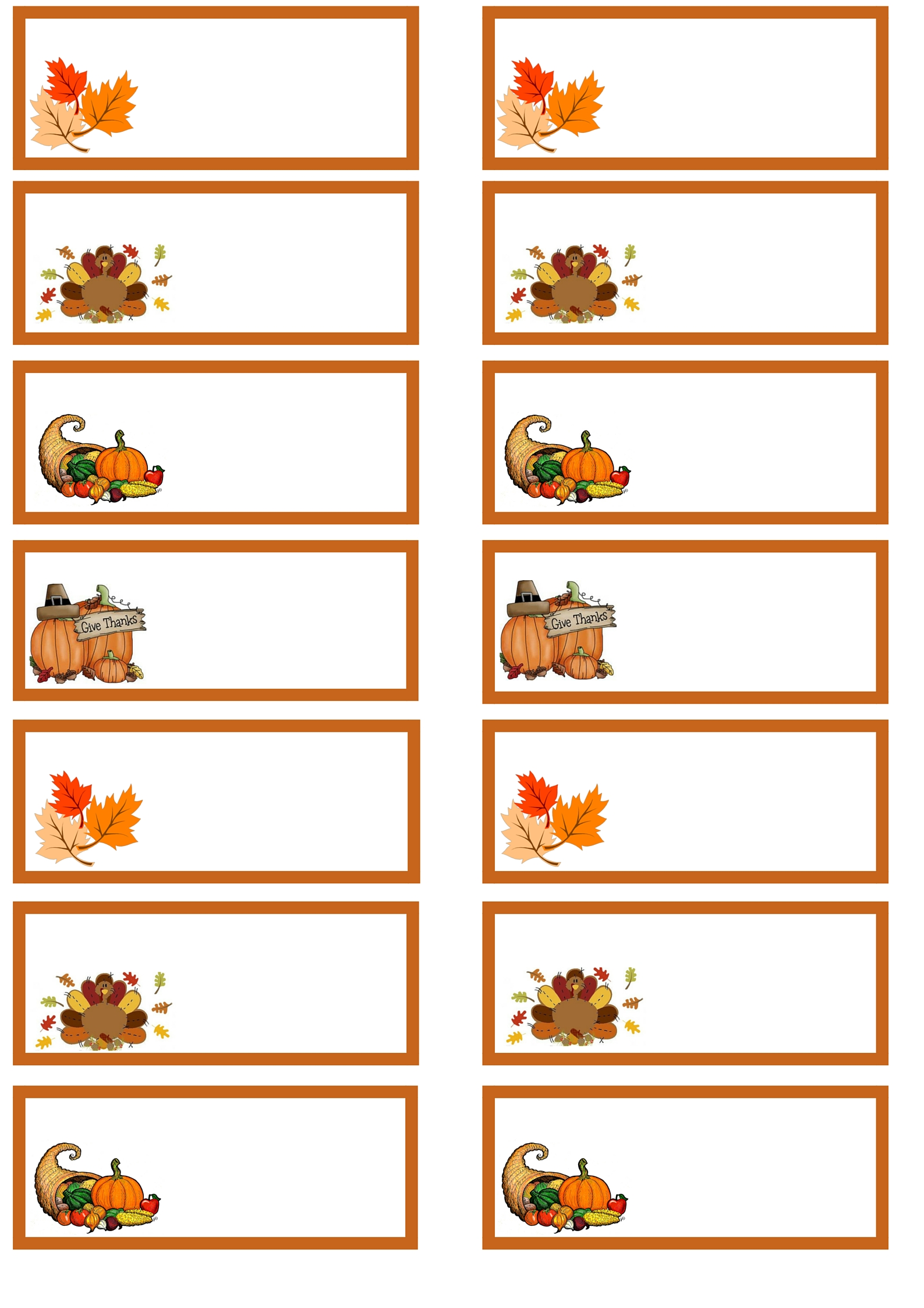 Thanksgiving Day Printables
