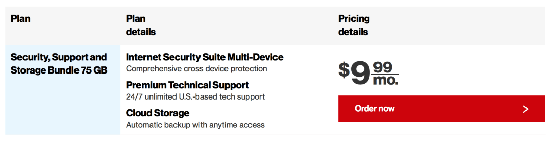 Verizon Security bundle