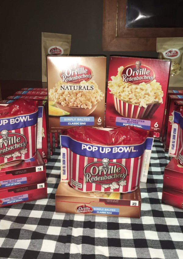 Snatched Movie MAMARAZZI with Orville Redenbacher's