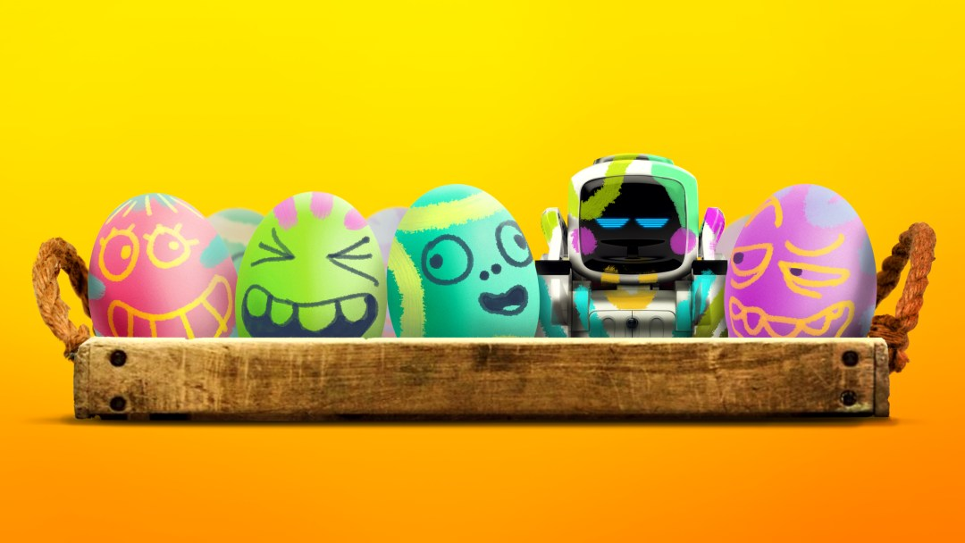 Sugar free easter baskets trendy chaos anki consumer robotics ai company is offering its best selling robot with a big brain and even bigger personality cozmo for 14999 30 off msrp negle Image collections