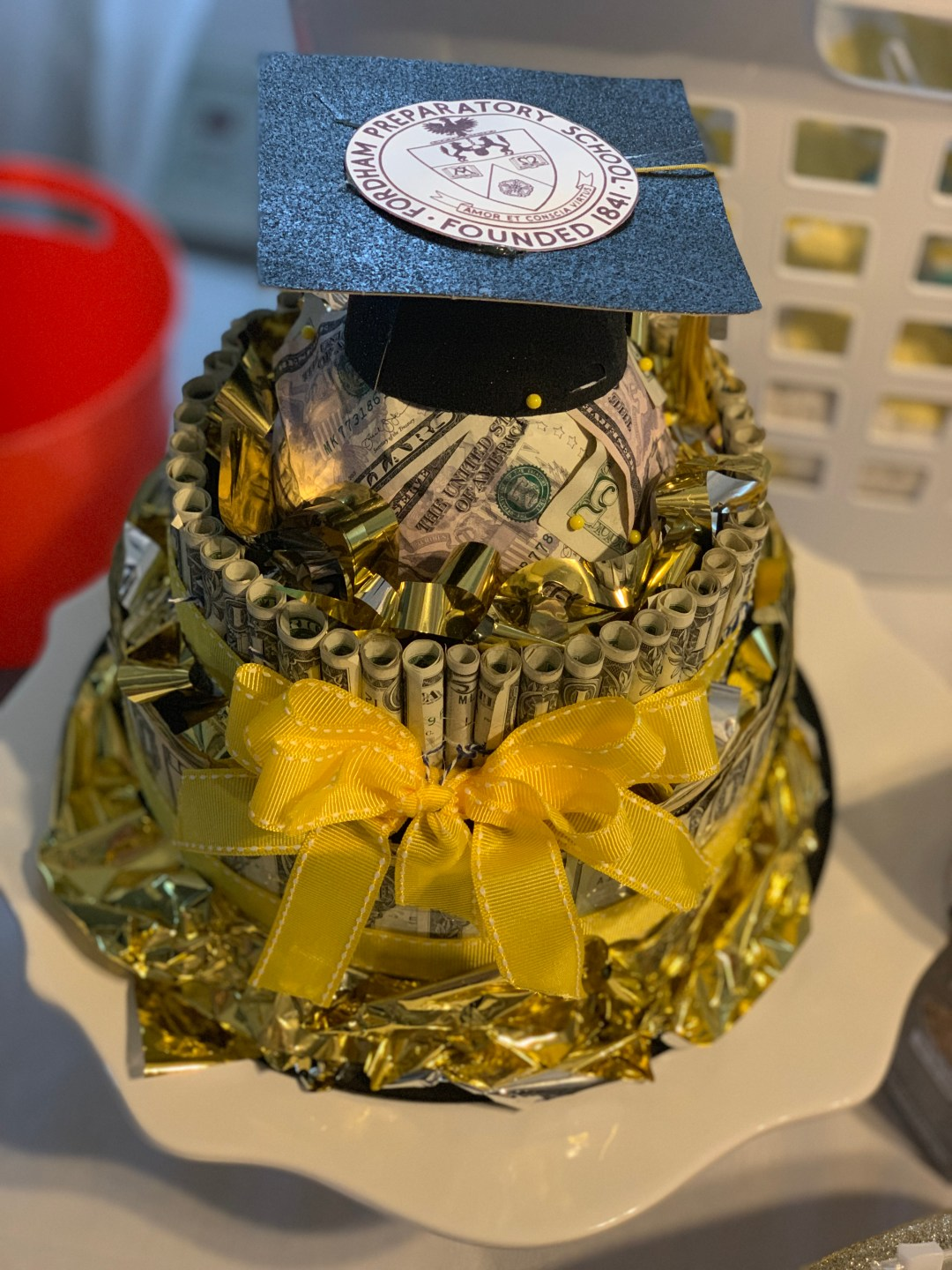 How To Make A Money Cake Trendy Chaos