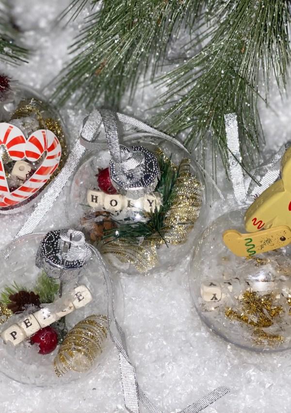 DIY Classic Christmas Ornaments