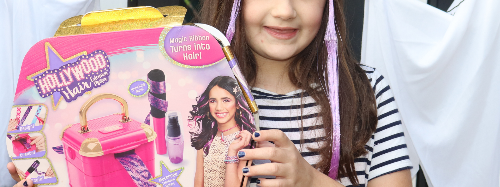 Transform your look with the Hollywood Hair Extension Maker
